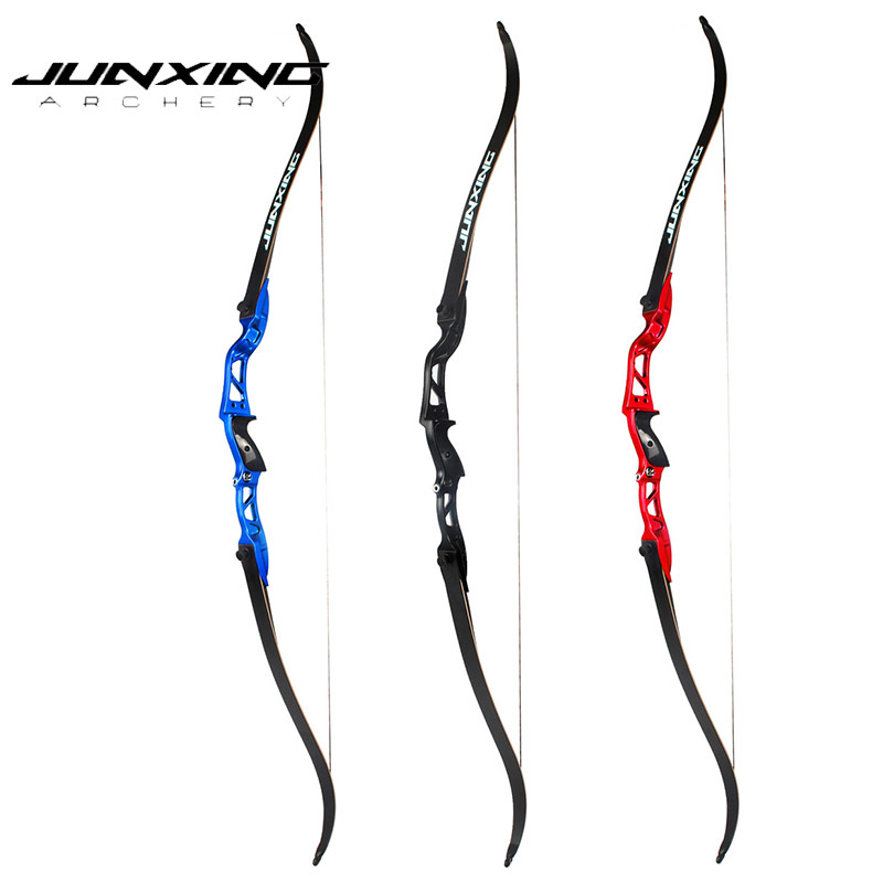 20-36Lbs American Hunting Bow Recurve Bow in Black/Red/Blue Archery with Sight and Arrow Rest for Archery Hunting Shooting dmar archery quiver recurve bow bag arrow holder black high class portable hunting achery accessories