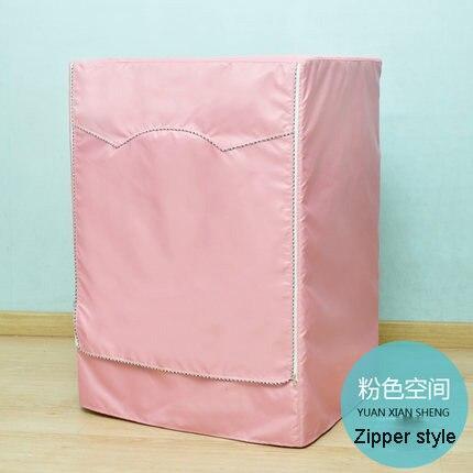 홈 세탁기 커버 패션 플로랄 보호 케이스 욕실 방수 자외선 차단제 세탁기 건조기 커버