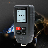 CT 100 Coating Thickness Gauge Automobile Iron Aluminum Paint Plating Test Thickness Gauge Aluminum And Measuring Instrument