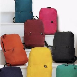 Image 4 - الأصلي شاومي حقيبة الكتف 10L165g حقيبة الصدر الرياضية غير رسمية مناسبة للرجال/النساء حجم صغير حقيبة الكتف حقيبة ملونة