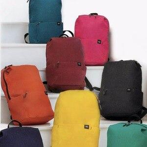 Image 4 - Original xiaomi shoulder bag 10L165g casual sports chest bag suitable for men / women small size shoulder bag colorful bag
