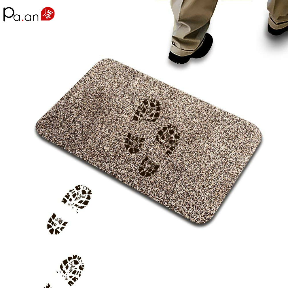Advanced Absorbent Doormat for Entrance Magic 1 step Cleaning Door Mat Pet Paw Clean Kitchen Floor Mat Rugs Carpet Rugs As Tv