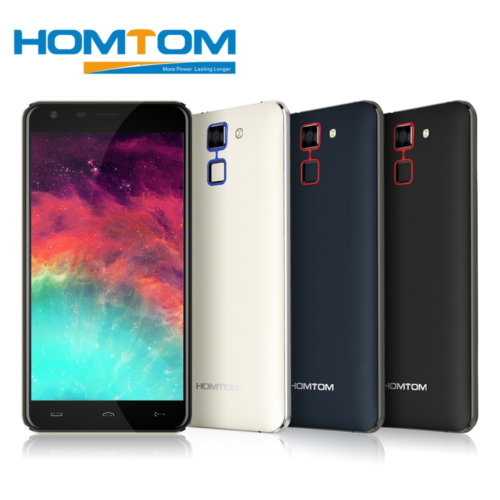 HOMTOM HT30 Mobile Phones MT6580 1 3 GHz Quad Core 8G ROM 1G RAM Android 6