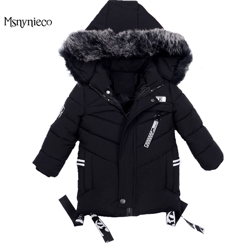 Winter Boys Jackets 2017 Fashion Casual Warm Cotton Padded Coats For Kids Hooded Outerwear Children Clothing Toddler Clothes children winter coats jacket baby boys warm outerwear thickening outdoors kids snow proof coat parkas cotton padded clothes