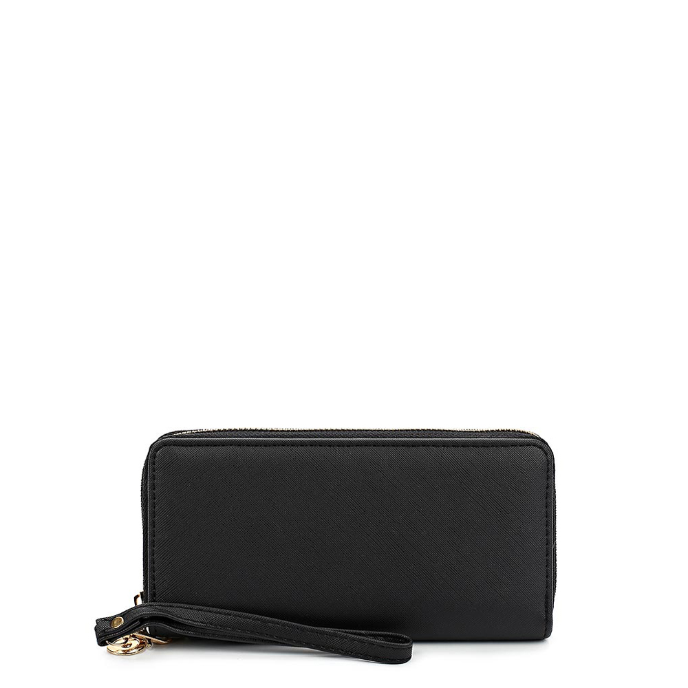Wallets MODIS M181A00105 woman wallet clutch coin purse for female TmallFS 2016 famous brand top leather men double zipper long wallet dollar price 17 card slot clutch wallet handbag purse coin pocket