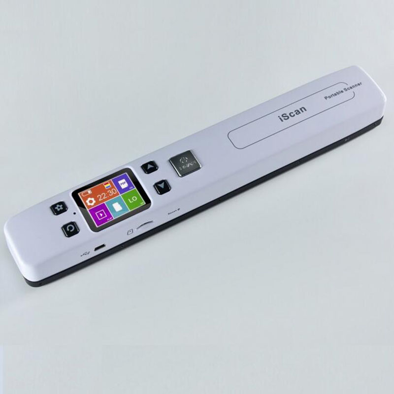 WIFI Scanner Zero Margin Handheld Portable Scanner High definition color large screen preview Scan books wireless offline a4