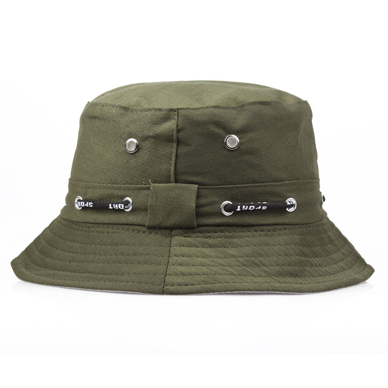 c90aaf94a9 Designer Solid Boonie Hat High Quality Cotton Comfortable Breathable Bucket  Hats For Men And Women Travel Cap 7 Color HFA38-in Bucket Hats from Apparel  ...