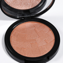 Brand 4 Color Highlighter Powder Brightening Face Foundation Matte Color Palette Highlight Contour Bronzer Make up Set