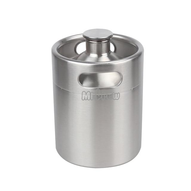 Stainless Steel Beer Mini Keg Set 4