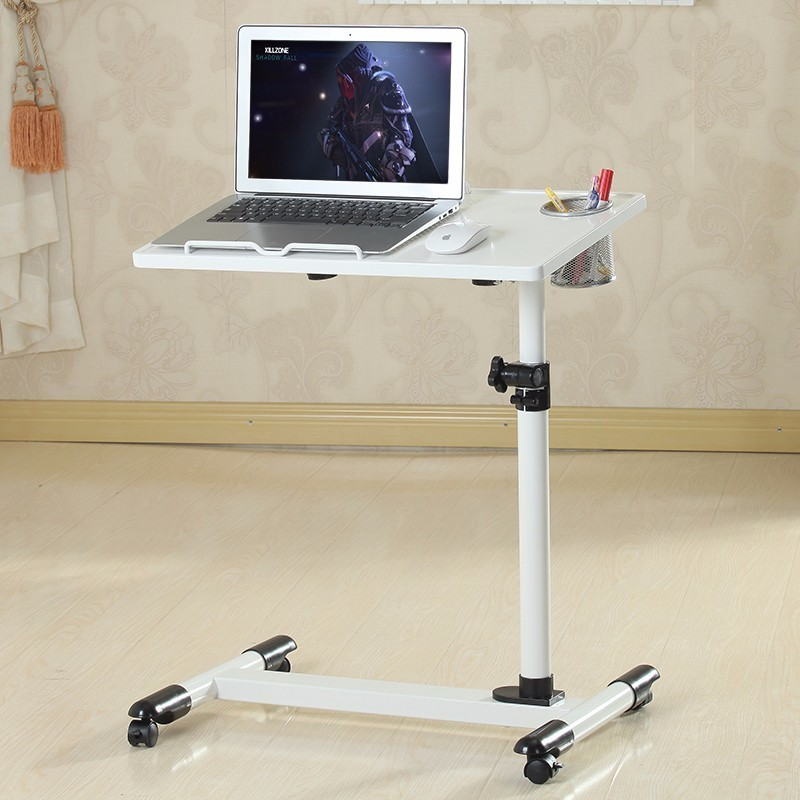 BSDT YST 360 degree rotary notebook comter desk with heat radiating mobile table FREE SHIPPING bsdt creative home dening hanging design lazy bed desktop comter desk mobile rotary household seamless bedside table