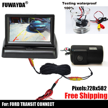 free shipping!!! CAR CCD SONY CHIP Sensor REAR VIEW REVERSE BACKUP PARKING Safety DVD GPS NAV CAMERA FOR FORD TRANSIT CONNECT image