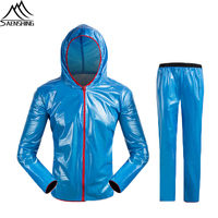 Cycling Wind Jacket High Visibility MultiFunction Jersey Road MTB Bike Bicycle Windproof Quick Dry RainCoat Windbreaker suit