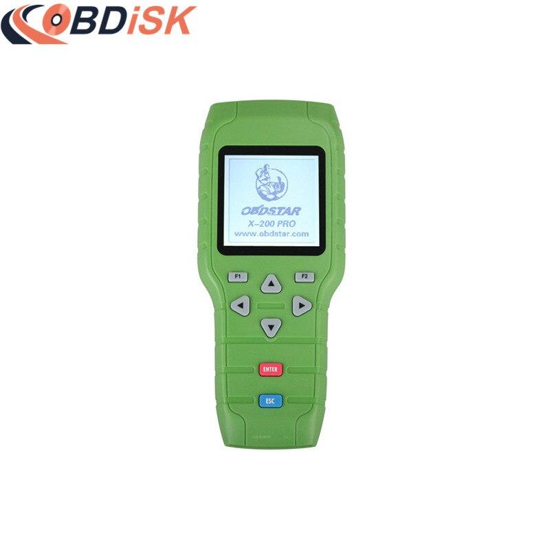 Original OBDSTAR X-200 X200 Pro A+B Configuration for Oil Reset + OBD Software + EPB master b 15 epb