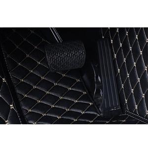 Image 5 - Alfombrilla Flash de cuero para coche, alfombrillas personalizadas para los pies, para Toyota corolla 2009 2016 2007 2014 2015 2016
