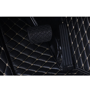 Image 5 - Flash in pelle mat tappetini auto per Toyota corolla 2007 2014 2015 2016 2017 2018 auto Personalizzate Rilievi del piede automobile tappeto copertura