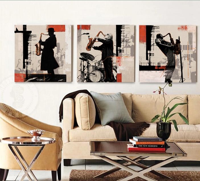 Rock Jazz saxophone performances home decor wall art canvas art bar cafe bedroom living room kitchen