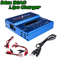 iMAX B6 AC Lipo Charger For Car/Helicopter 2S-6S RC Battery Balance Charger + EU/US/UK/AU plug power supply wire