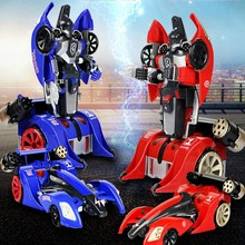 forma robot car change to robot very cool with remote control can fire with music and