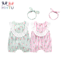 HHTU Hot Sale Baby Girls Rompers Cute Clothes Newborn Rompers Cotton Jumpsuit For Summer Girl Clothes