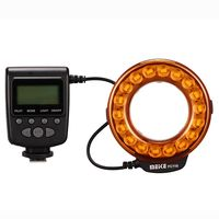Meike FC 110 LED Macro Ring Flash Light FC110 for sony Alpha MA A77 A580 A65 A37 A300 A350 A550 A700 A850 A900 Minolta camera