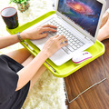 Notebook computer desk bed table folding simple lazy small desk creative Plastic Houseware