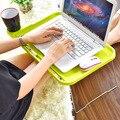 Preguiçoso pequena mesa Notebook cama mesa do computador mesa dobrável simples criativo Utensílios Domésticos de Plástico