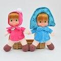 Masha E Urso Dos Desenhos Animados do inverno Do Bebê Brinquedos de Pelúcia Dolls Presente Das Crianças Das Crianças Brinquedos de Pelúcia 26 cm Boneca