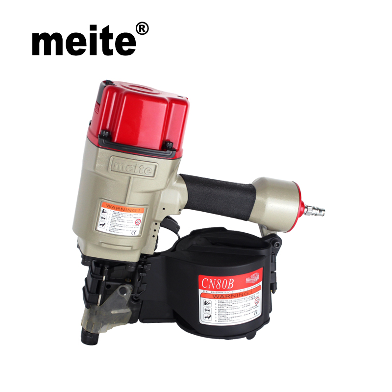 MEITE Coil nailer CN80B industrial air coil nailer gun powerful Pneumatic roofing coil nailers May.5th Update tool high quality cn55 industrial pneumatic coil nailer roofing air nail gun tool