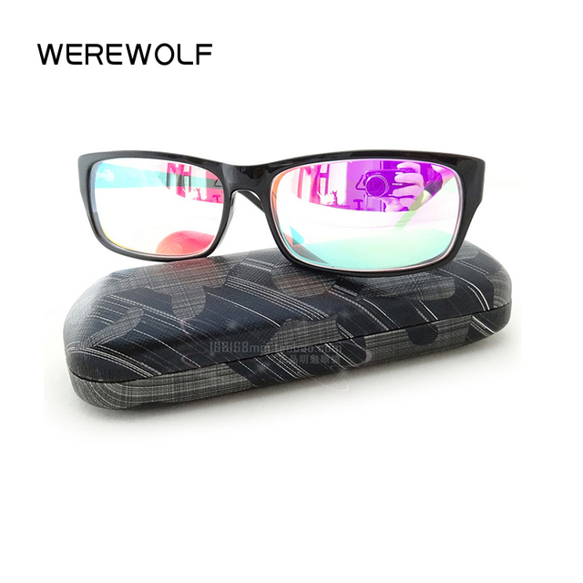 Dessin Lunettes De Soleil rouge vert couleur aveugles lunettes correctives femmes hommes