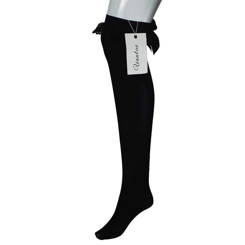 OverKnee Kousen Boot Dij Hoge Boog Decoratie Panty Sexy Kous Vrouwen/Vrouw/Dame Spider Print Lange Kous Sexy 2018
