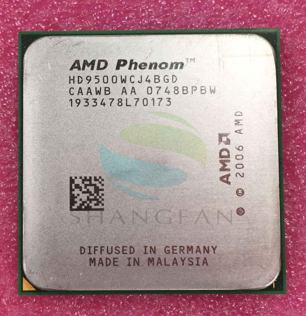 AMD Phenom X4 9500 Quad-Core DeskTop 2.2GHz CPU HD9500WCJ4BGD Socket AM2+/940pin