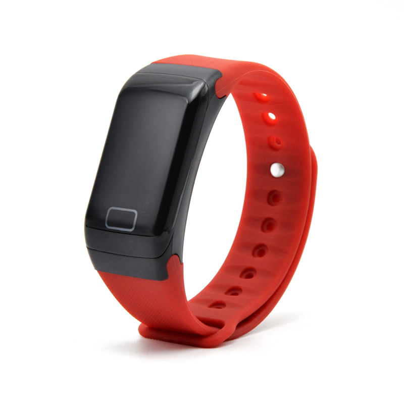 F1 Smartband Heart Rate Monitor Smart Wristband Bracelet Health Wrist Watch Call Alarm Vibrating for xiaomi Android&ios phone