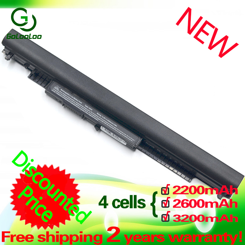 Golooloo 14.4V 4CELL HS04 Laptop Battery For HP Pavilion HSTNN-LB6V 14-ac0XX 15-ac0XX 255 245 250 G4 240 HS03 Hstnn Lb6v