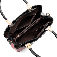YONGBONG Patchwork Top Handbag New Arrival Women Messenger Bag Woman Shoulder Bags High Quality Handbags Women Famous Brands