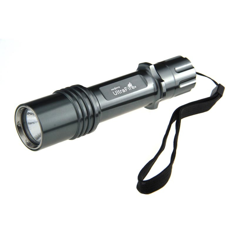 US $15 28 15% OFF|Ultrafire CREE XM L2 T6 5 mode 12000lm LED flashlight  handheld 18650 battery charger torch hunting camping luz flash light-in LED