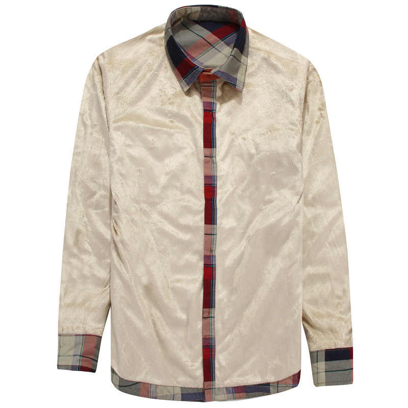 Yeni kış ekose polar gömlek erkekler % 100% pamuk astar rahat uzun kollu gömlek giyim kalın sıcak sonbahar gömlek Chemise Homme