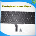 "Brand New For MacBook Air 11.6"" A1370 A1465 AZERTY FR French keyboard+100pcs keyboard screws 2010-2015 Years"