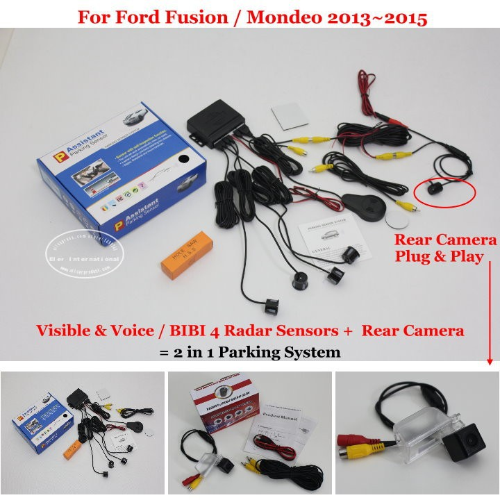 Ford Fusion Mondeo 2013~2015 parking system
