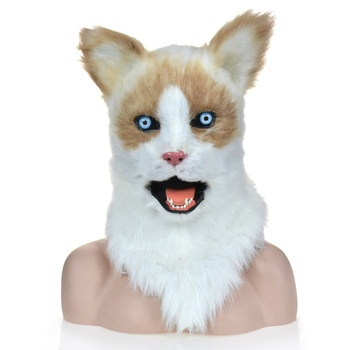 Ragdoll Full Face Animal head mask Eco-friendly Material Halloween,Party,Special Day Gifts for adult