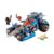 Lepin 14012 nexus caballeros hoja jestro estruendo de arcilla arcilla bloque de construcción scurrier compatible con star wars