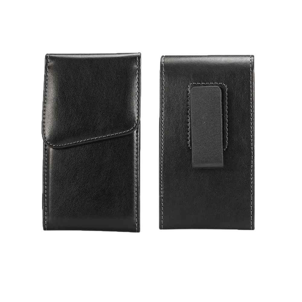 حقيبة لهاتف سامسونج غالاكسي Xcover 4/On6/A20e/جراند ماكس عالية الجودة العمودي تدوير الخصر حقيبة مع كليب حزام جراب هاتف