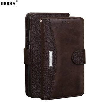 For XiaoMi Redmi Note 4 Pro Cases Luxury leather Wallet Flip Cover Phone Bags Cases for Xiaomi Redmi Note 4X Prime IDOOLS Brand capa gucci iphone x