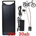 36 V 1000 W Е-байка 36В 30AH батареи для электрических велосипеда 36 V 30AH литиевая батарея использовать samsung сотовый с фонарь + 42В зарядное устройство