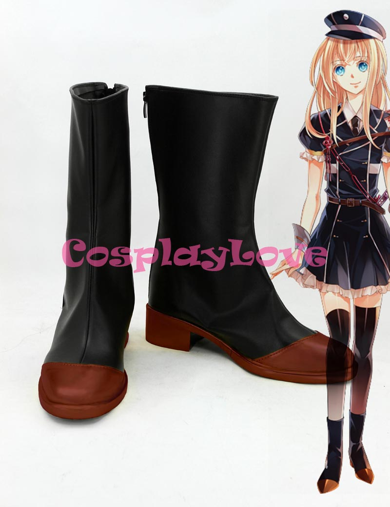Custom Made Japanese Game Touken Ranbu Online Midare Toushirou Cosplay Boots Shoes For Halloween Christmas