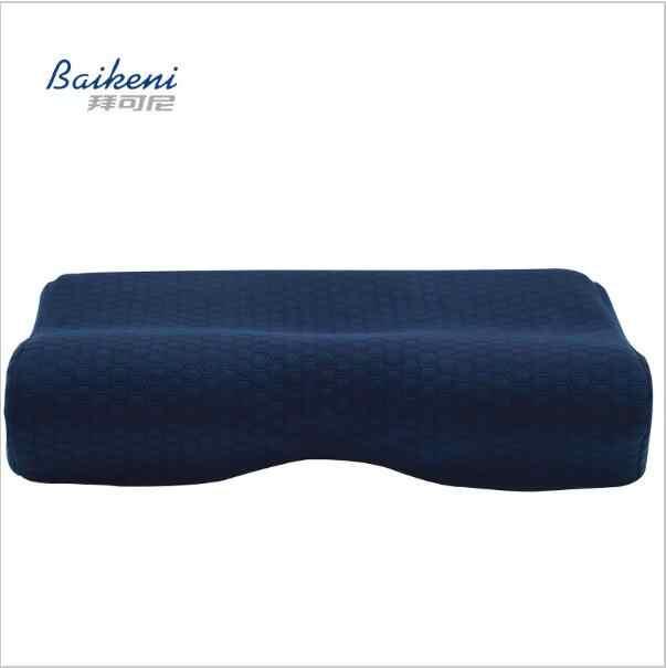 Bamboo Charcoal Ventilation Fabric Neck Pillow Memory Foam Pillow Cervical Orthopedic Pillow Massage Sleeping Pillows