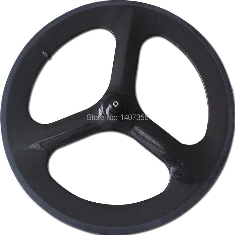 20 Carbon Bmx Tri Spoke Wheels Full Carbon Bmx Spokes Clincher