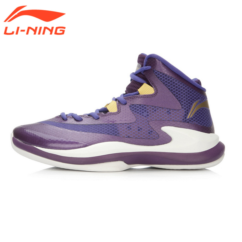 ФОТО Li-Ning Men Basketball Shoes Breathable Sneakers Support Stability Footwear Super Light 13 Generation Sport Shoes Brand LiNing