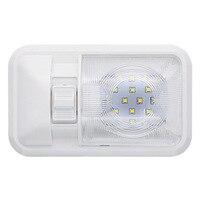 white light car Car LED Interior Dome Light Warm White Ceiling Lamp for 12V Camper Motor Home RV Marine Boat (2)