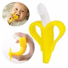 Высококачественная силиконовая зубная щетка и экологически безопасный Прорезыватель для малышей, Прорезыватель для зубов, детский прорезыватель, жевательный круг, дропшиппинг