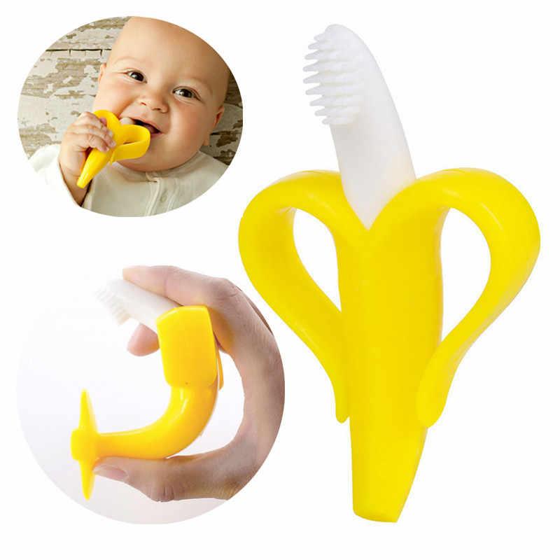 Высококачественная силиконовая зубная щетка и экологически безопасный Прорезыватель для малышей Прорезыватель для прорезывания зубов детский Прорезыватель для прорезывания зубов Детская жевательная Прямая доставка
